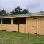 10x38-ShedRow Barn For Sale