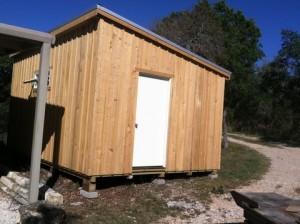 12 ft Wide Monoslope Cabin