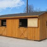 Shed Row Horse Barn 12 FT