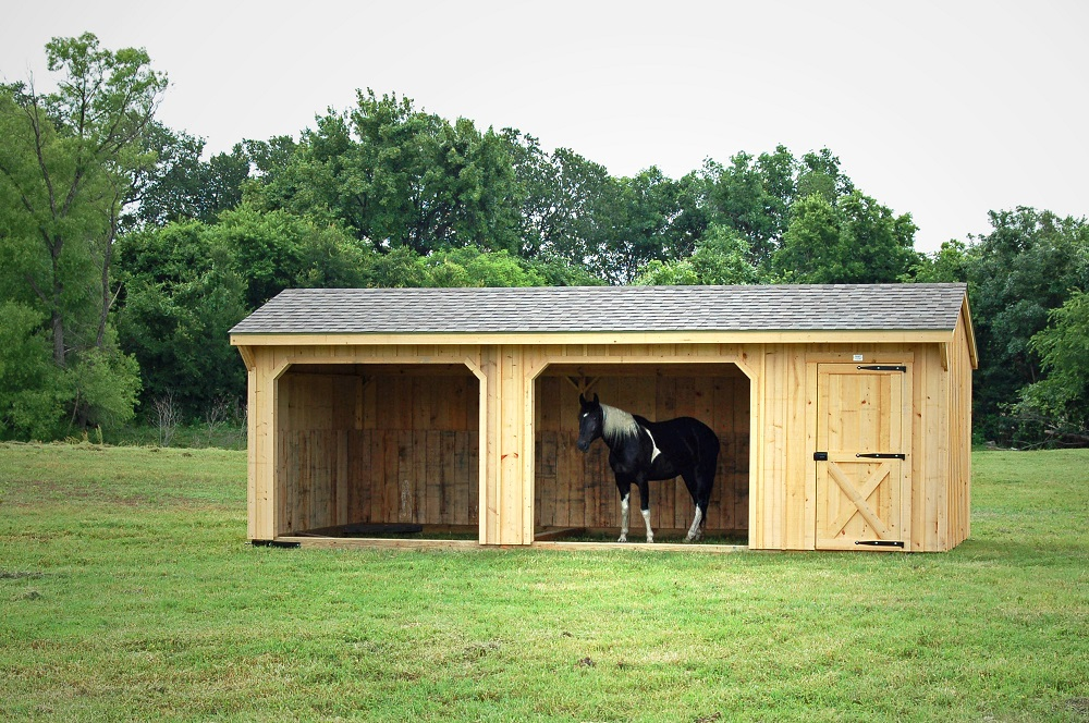 10 39 run in shed portable horse barns for sale deer for Sheds and barns