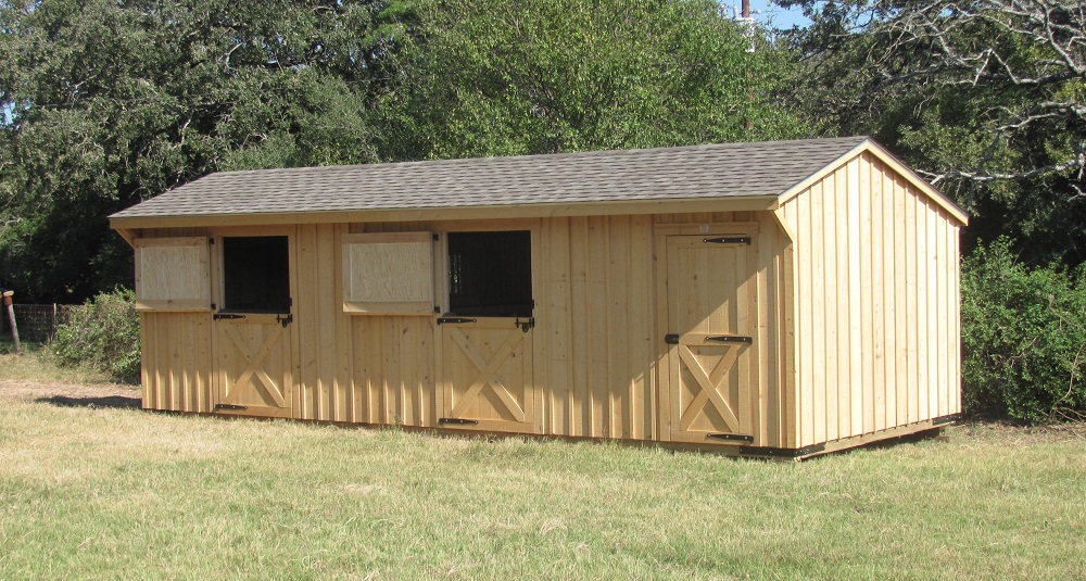 Portable Run In Shed 10 Horse Barns For Sale Deer