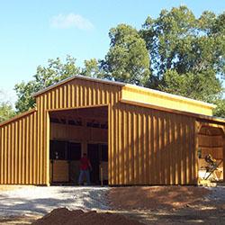 Prefabricated Aisle Barns
