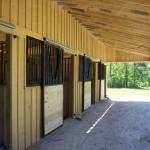 Custom 12 Ft. Shed Row Barn