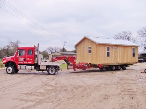 Custom Built Portable Cabins 12 ft