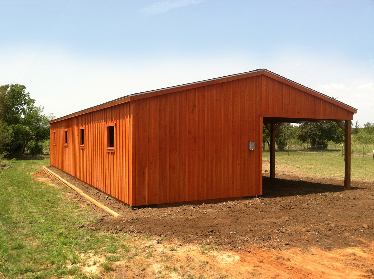 Portable horse shelters livestock shelters run in for Sheds and barns
