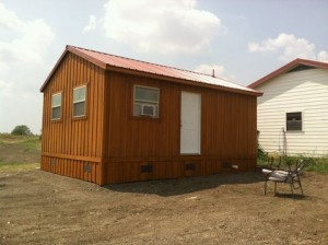 14' portable cabin