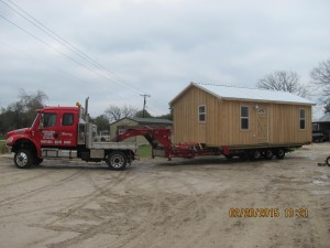 portable cabins delivered