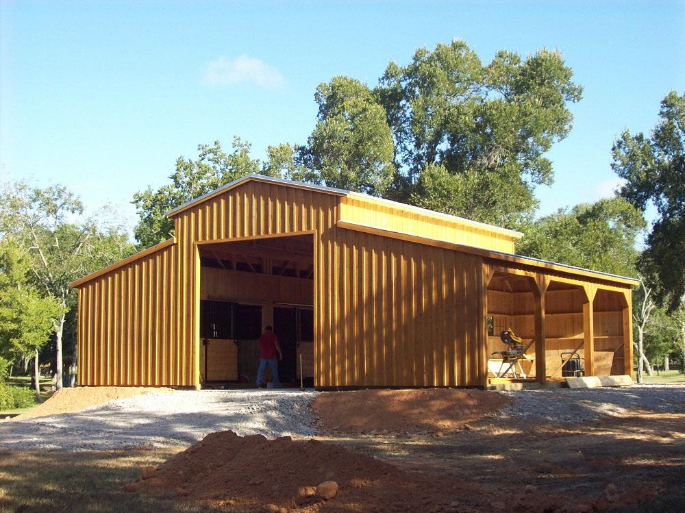 Portable Aisle Barns for Sale in Texas