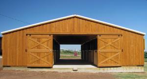 Portable Aisle Barns