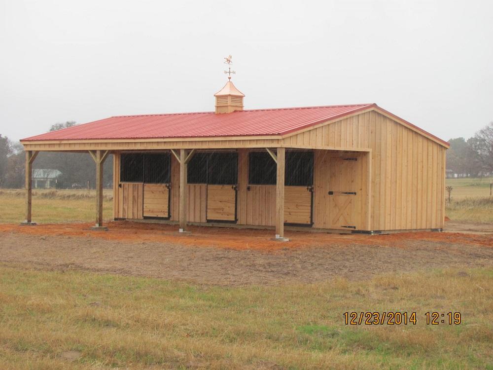 Portable Horse Barns Stables Amp Sheds For Sale Deer