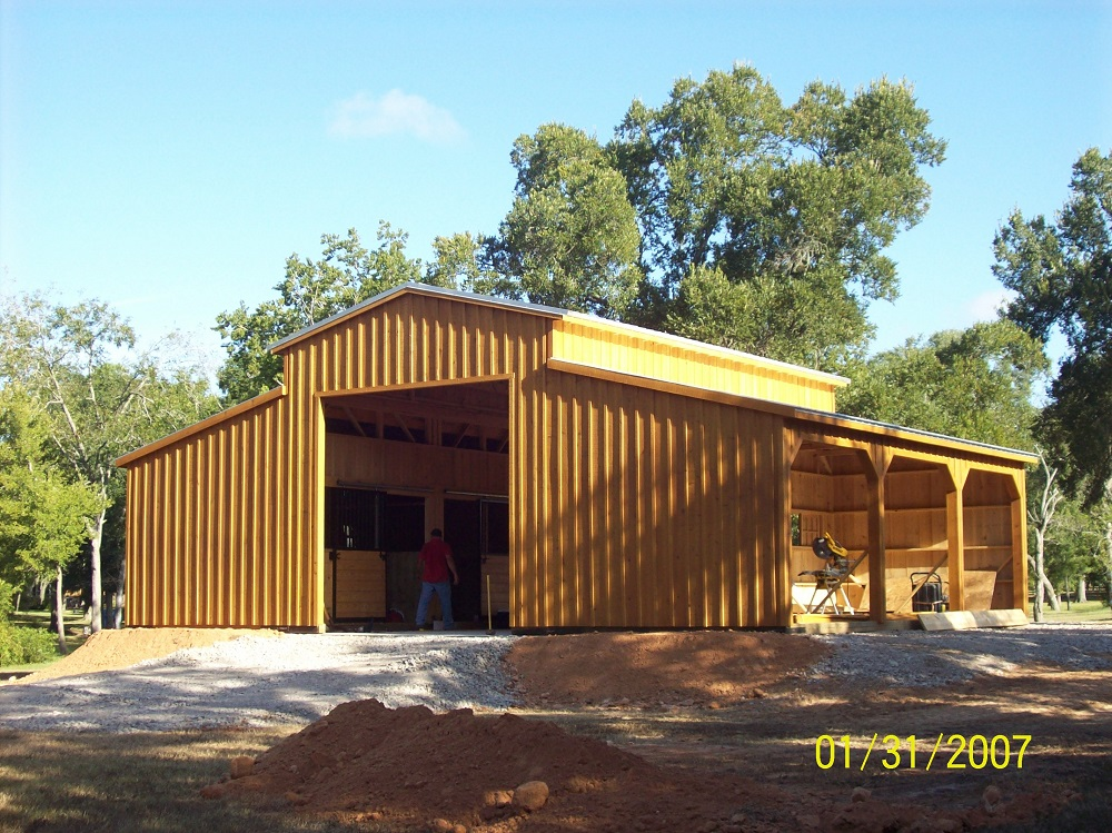 10 Portable Horse Barns Amp Shedrow Barns Deer Creek