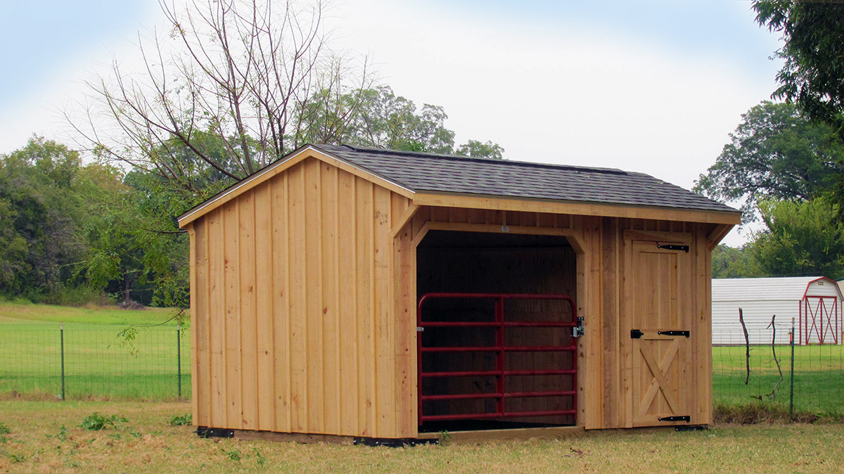 Horse Barns Prefab Cabins Run In Sheds For Sale Deer Creek Structures
