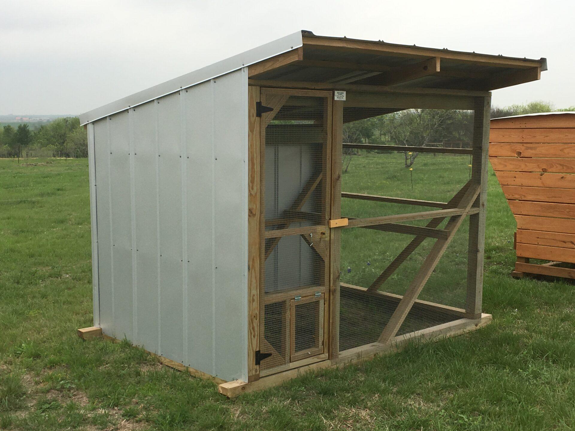 Prefab Custom Size Chicken Coops In Texas Deer Creek Structures