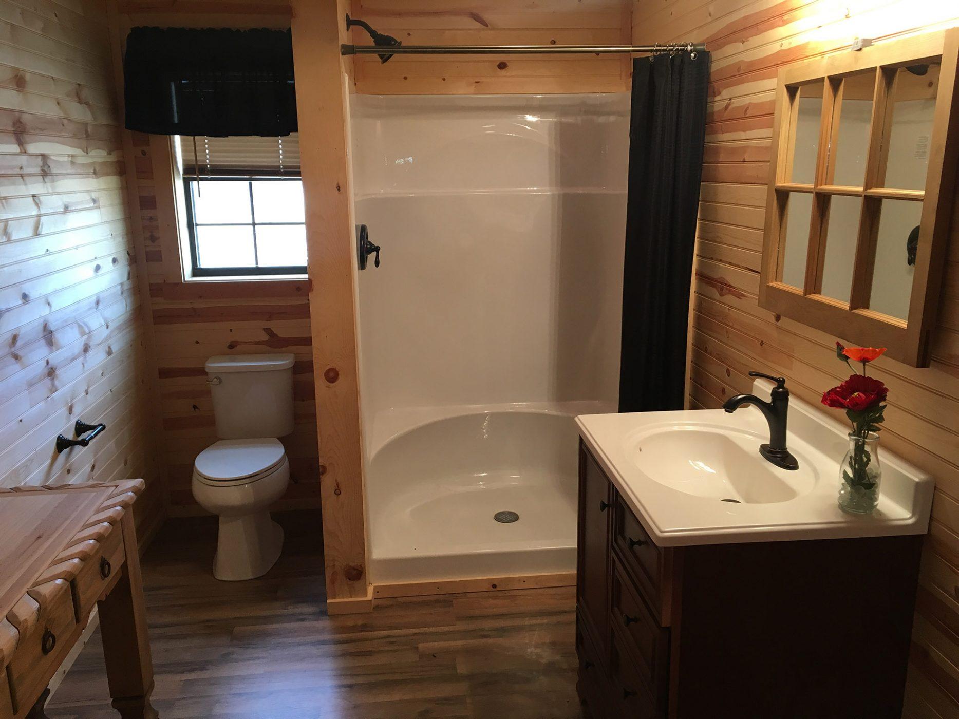 12' Wide Finished / Unfinished Portable Cabins | Deer Creek