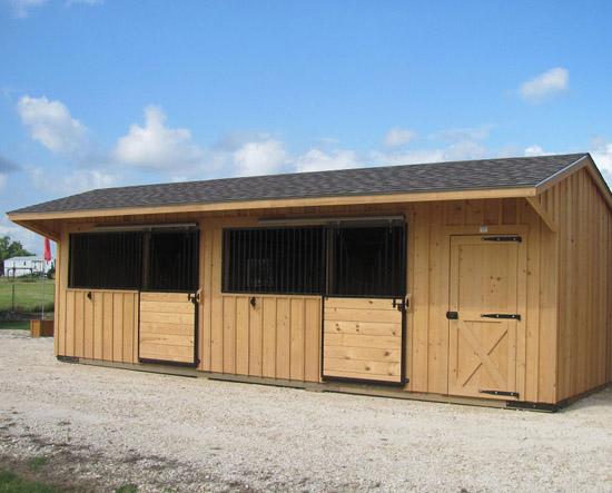 Portable Prefab Horse Barns, Stables & Sheds for Sale   Deer Creek