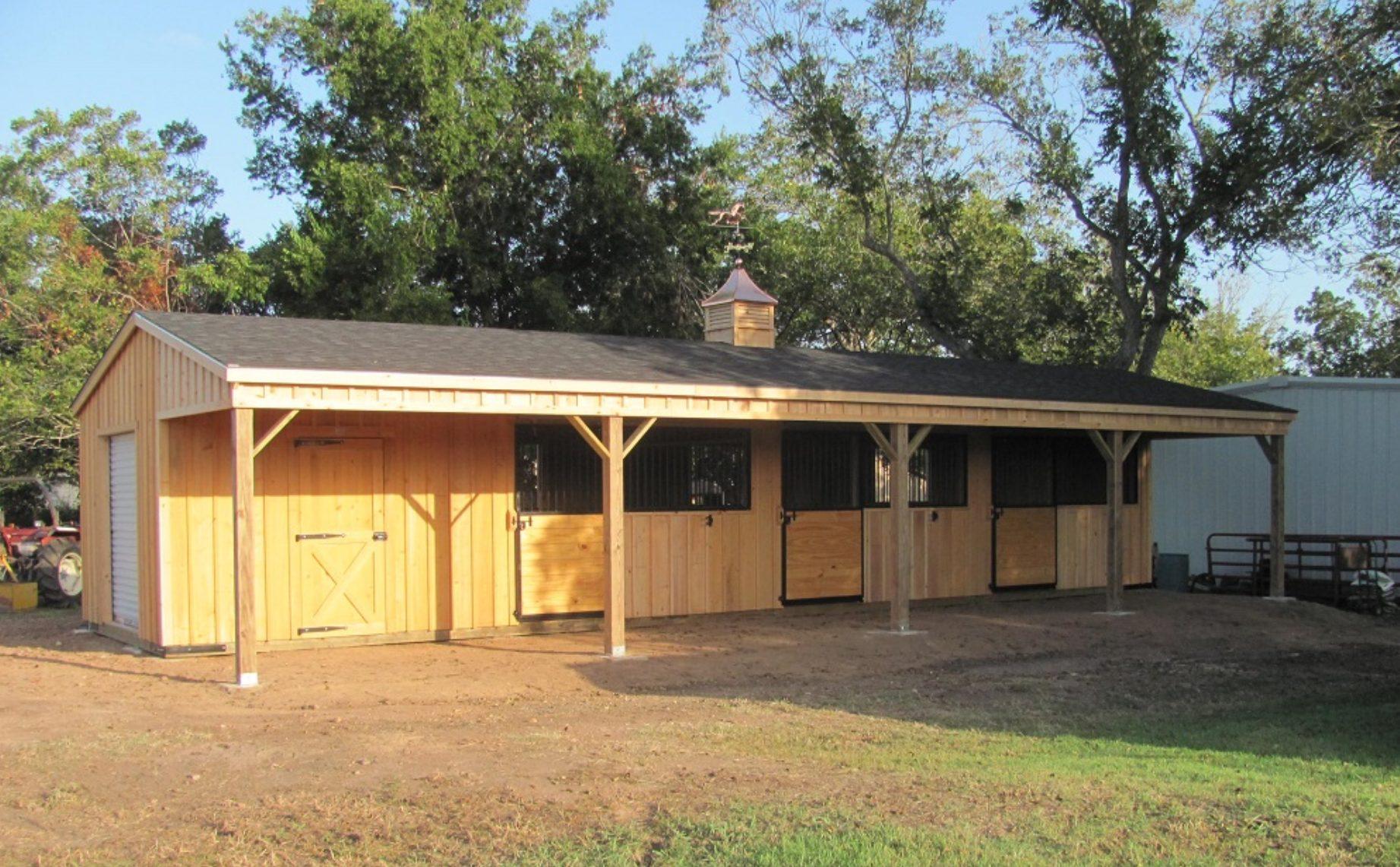Custom-Built Portable Barns in Lott, TX