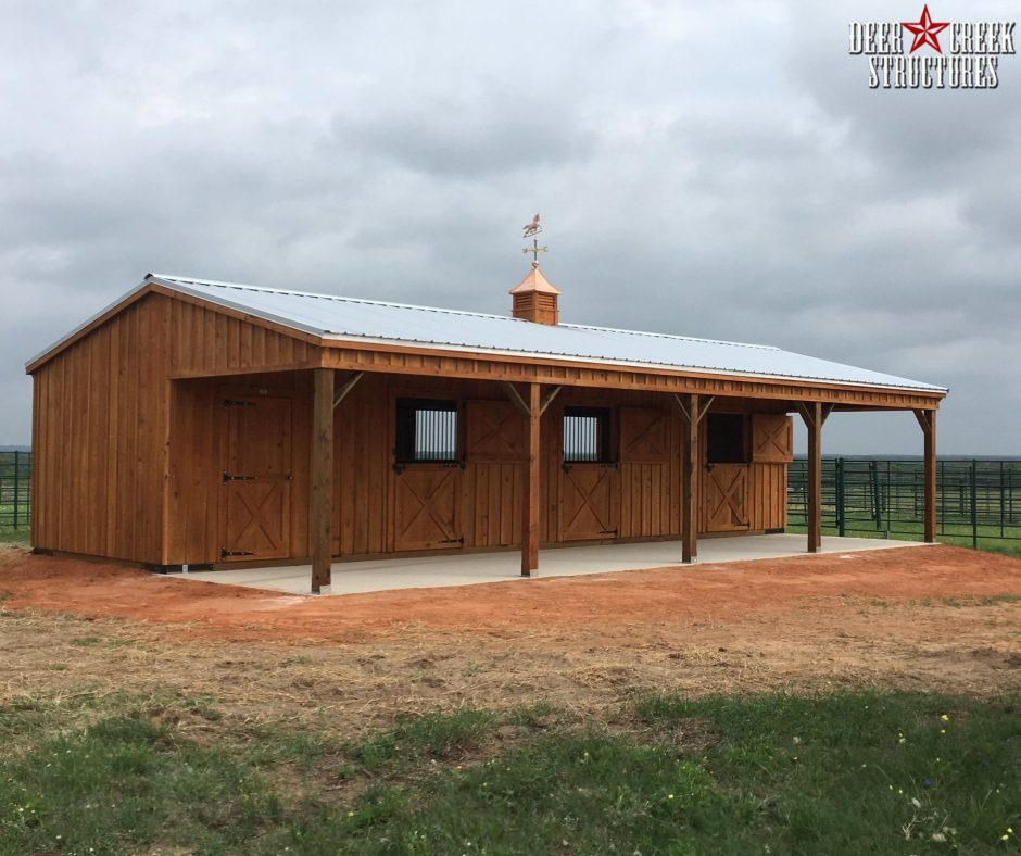 Custom & Pre-Fab Barns for Sale near Lott, TX
