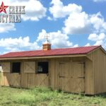 Portable Prefab Horse Barns & Livestock Structures in Texas
