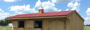 Portable Prefab Horse Barns & Livestock Structures in Texas