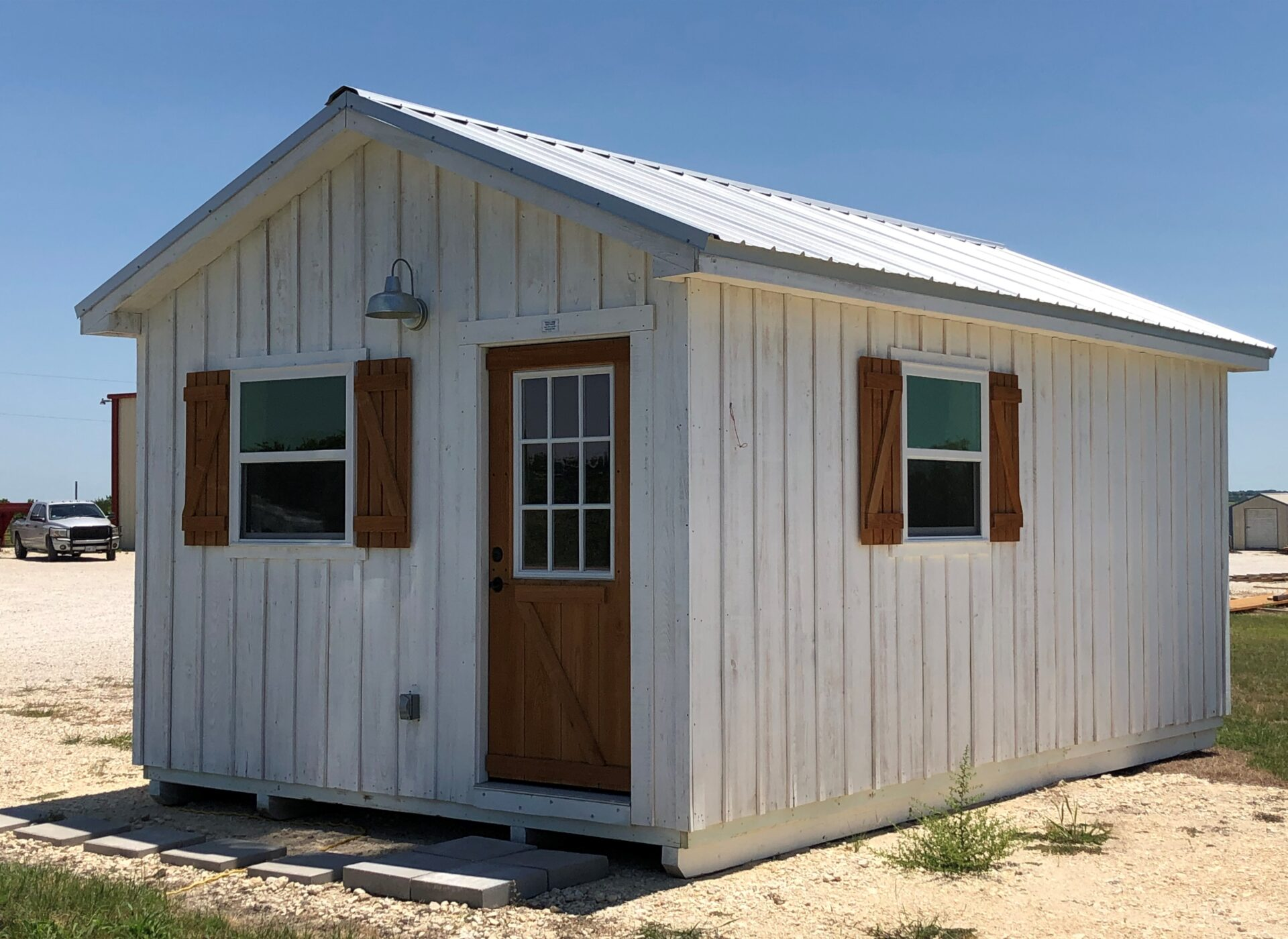 Portable Barns, Run-In Sheds & Cabins in Texas